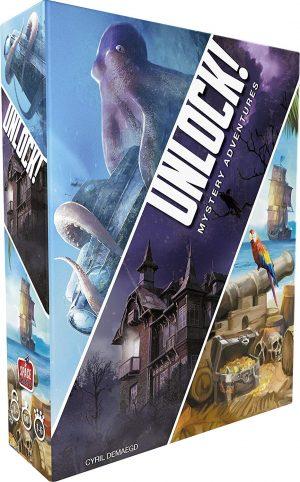 Boite du jeu Unlock Mystery Adventures